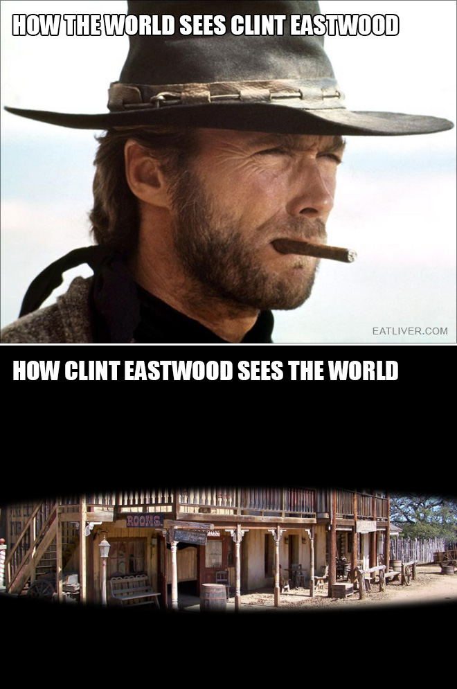 Clint Eastwood vs. The World
