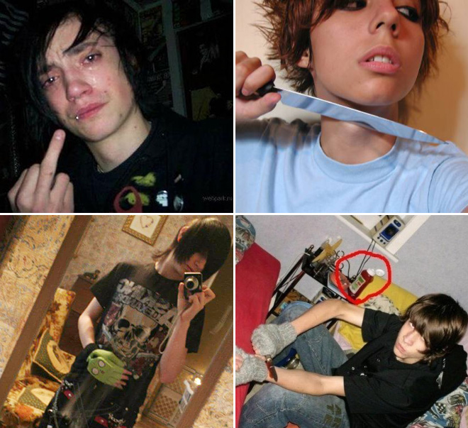 Emo kids: the funniest subculture ever.