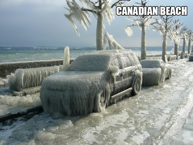 Only in Canada...