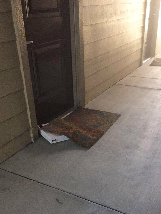 Very well hidden package.