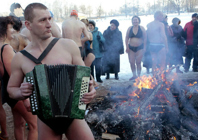 This is how Russians party.