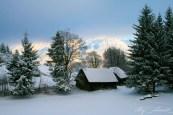cheile gradistei iarna - tablou de poveste