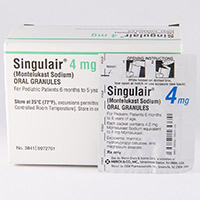 SINGULAIR ORAL GRANULES Dosage & Rx Info | Uses Side Effects