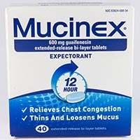MUCINEX Dosage & Rx Info | Uses Side Effects