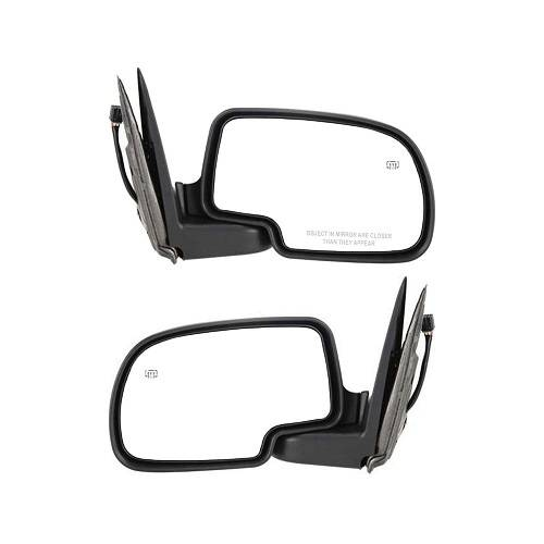 99*, 00, 01, 02 Silverado Side View Door Mirror Power Heat