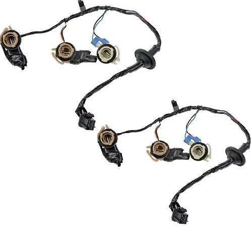 2000 2001 2002 Express Van Tail Lamp Harness Connector Set