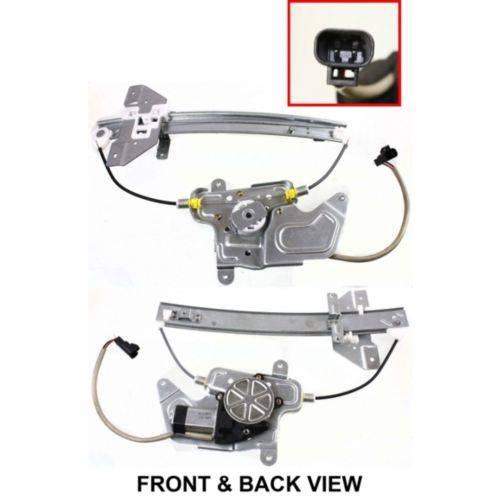 oldsmobile alero 20032004 power window motor and regulator assembly