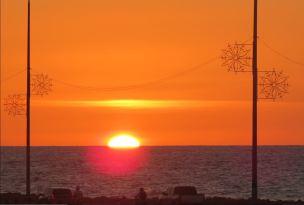 Auringonlasku Kolumbiassa