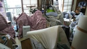 仙台 汚部屋の片付け 粗大ゴミ