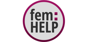 Logo fem:HELP App