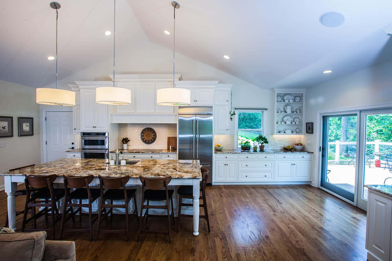 Open Concept Kitchen with Large EatIn Island  Callier