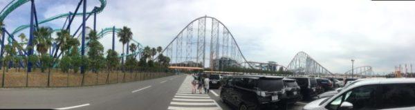 意外とアクセス良い!ジェットコースター数日本一のナガシマスパーランドに行ってきた