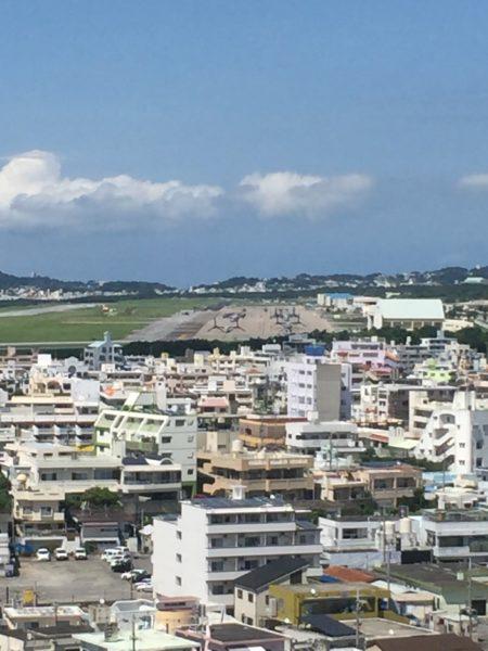【沖縄観光】普天間基地のオスプレイを見学できる、嘉数高台公園