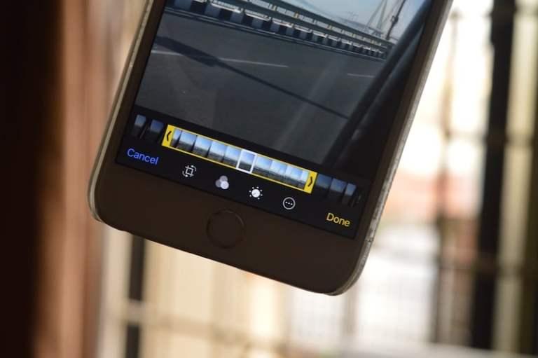 Как редактировать живые фотографии на iPhone в iOS 11