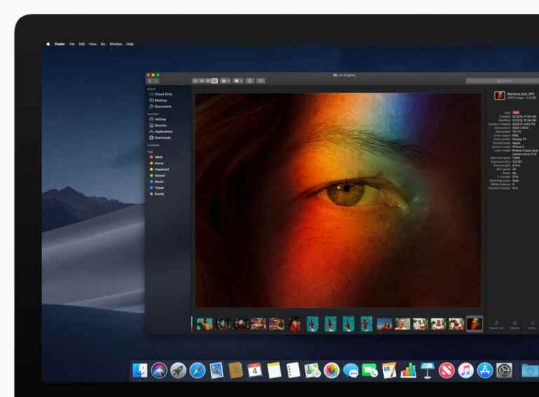 Как включить темный режим на вашем Mac