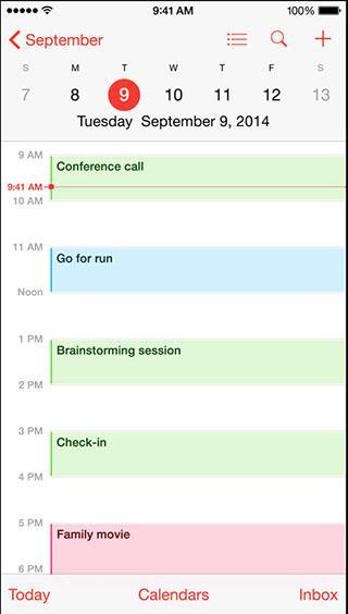 Как включить номера недель в календаре для iPhone и iPad