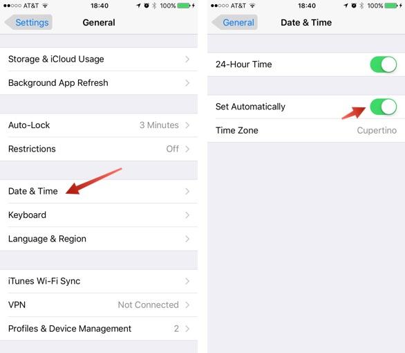 Исправить процент заряда батареи iPhone, зависающий или не обновляющийся на iPhone 6s или iPhone 6s Plus
