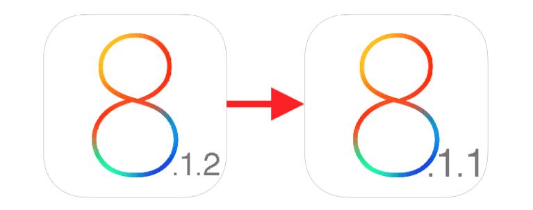 Как перейти с iOS 8.1.2 на iOS 8.1.1