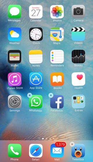 Как перемещать или удалять приложения на iPhone 6s без запуска быстрых действий 3D Touch