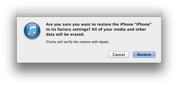 Восстановите или сбросьте взломанный iPhone или iPad до заводских настроек