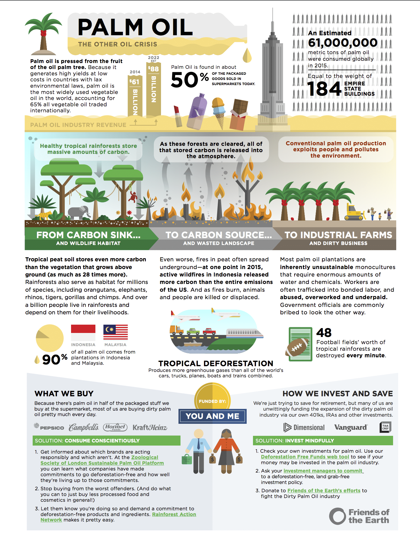 Palm Oil Fact Sheet Friends Of The Earth