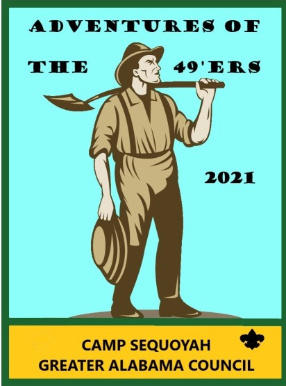 2021 Adventures Of The 49'ers Patch