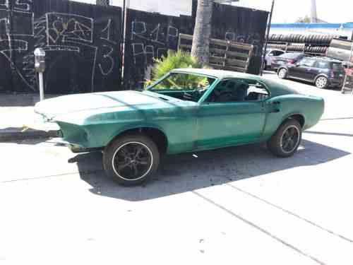 Check prices and deals of mustang v6 convertible for sale, find a dealership and shop second hand cars online in the usa Ford Mustang Fastback 1969 Selling A Project Fastback I M In One Owner Cars For Sale