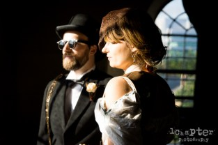 Steampunk Styled Wedding by 1Chapter Photography-23