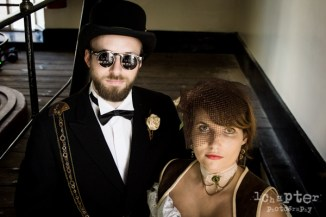 Steampunk Styled Wedding by 1Chapter Photography-24