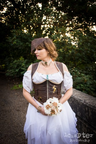Steampunk Styled Wedding by 1Chapter Photography-48