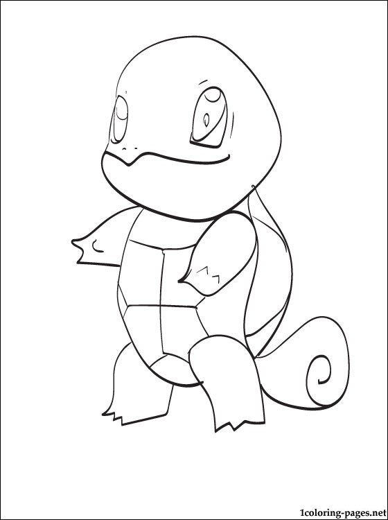squirtle coloring pages # 33