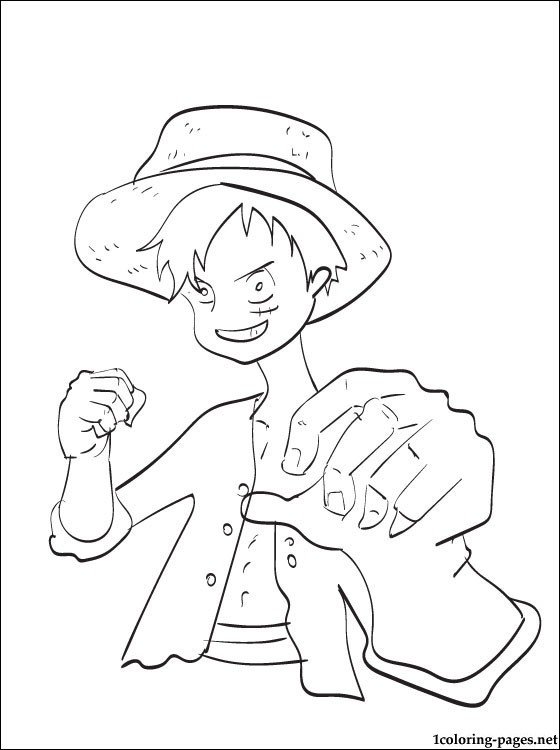 Consider these coloring books and pages to help ease the hospital transition. Monkey D Luffy One Piece Coloring Page Coloring Pages