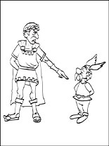 Asterix Amp Obelix Coloring Pages Page 2