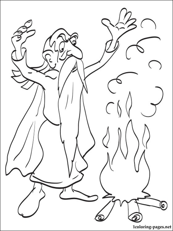 Panoramix Coloring Page Coloring Pages