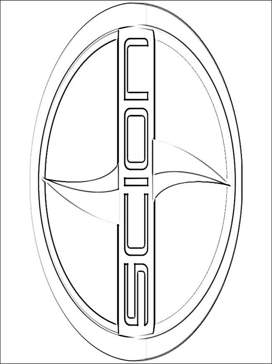 Coloring Page Scion Logo Coloring Pages