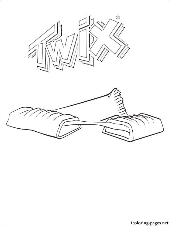 Kit Kat Wrapper Coloring Page Coloring Pages
