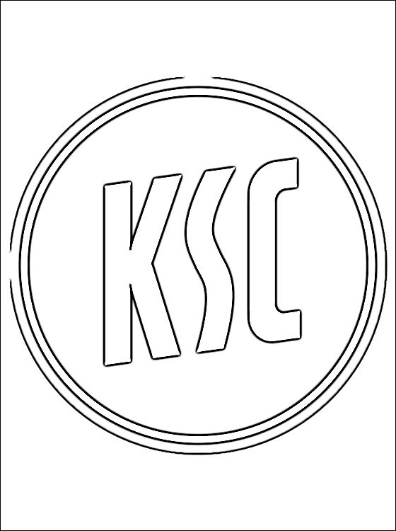 Logo Of Karlsruher SC Coloring Page Coloring Pages