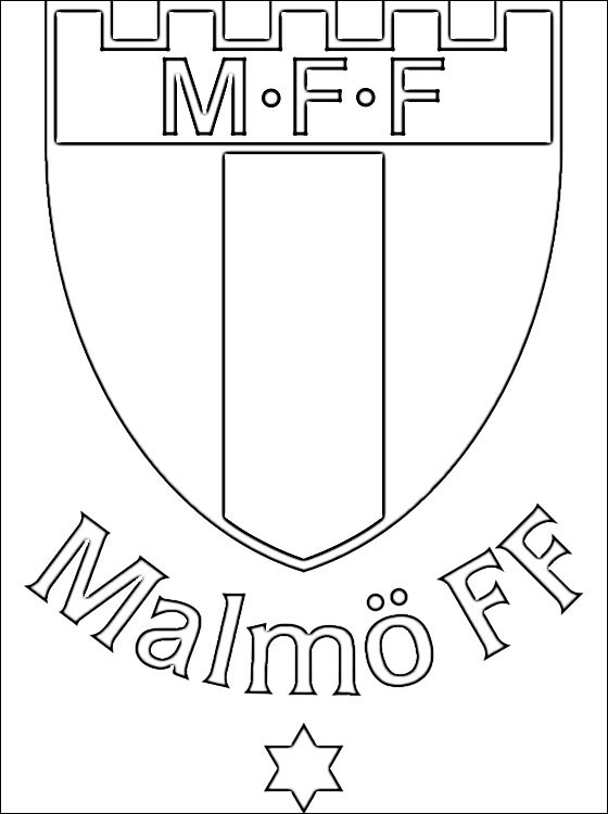 Malm FF Logo Coloring Page Coloring Pages