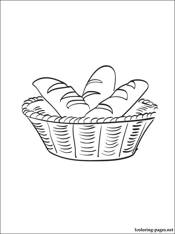 Select from 36251 printable coloring pages of cartoons, animals, nature, bible and many more. Breadbasket coloring page | Coloring pages