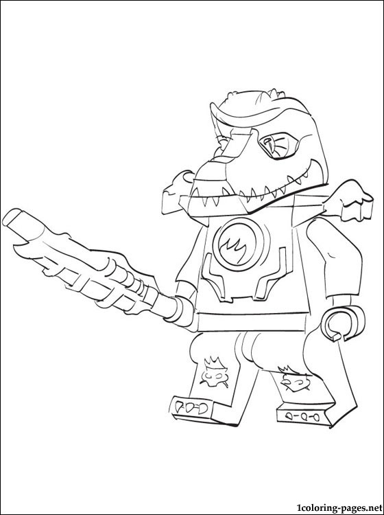 Lego Chima Cragger Coloring Page Coloring Pages
