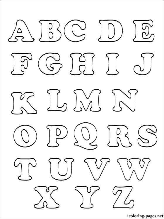 Free coloring pages of small abcd