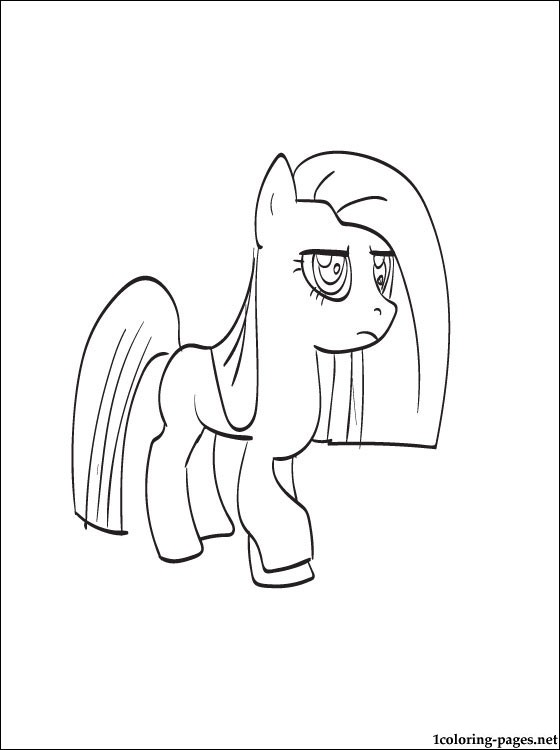 Pinkie Pie Coloring Page Coloring Pages