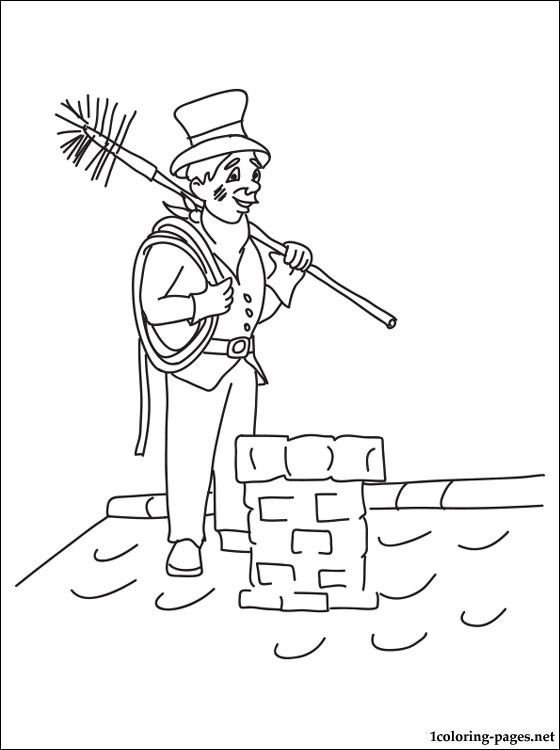 Occupation Coloring Pages Sketch Coloring Page