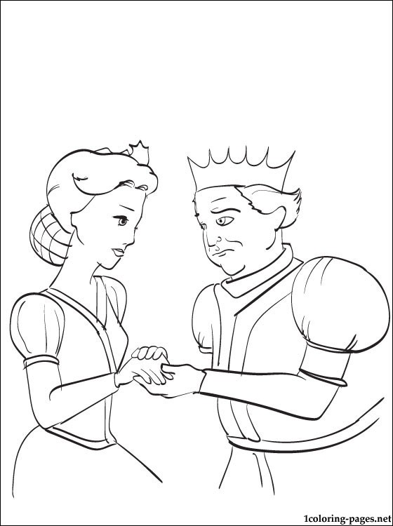 King And Queen Drawings : queen, drawings, Queen, Shrek, Drawing, Coloring, Pages