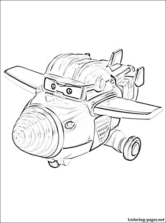 Todd Super Wings Coloring Pages