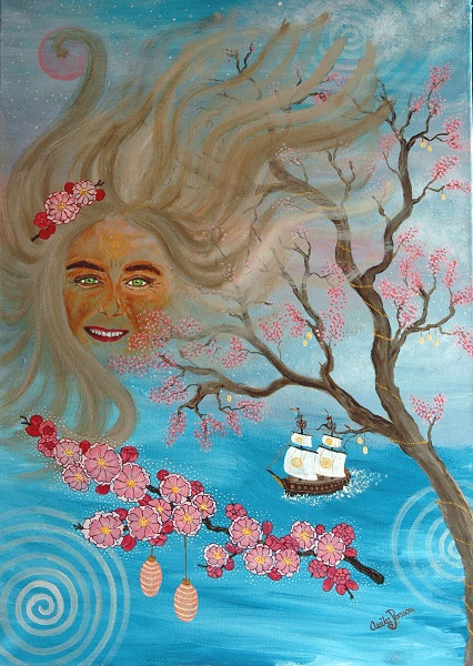 1create featured - anikka perrson 007 - Blessings and cherry blossoms