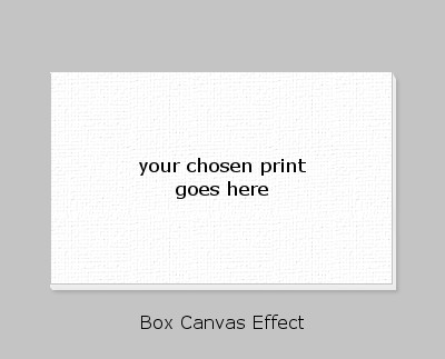 1create - boxed canvas effect example