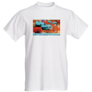 T-Shirt Mens Flying Bod