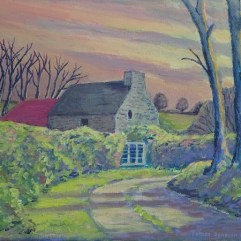 1create - Irish Cottage by James Donovan O'Connell