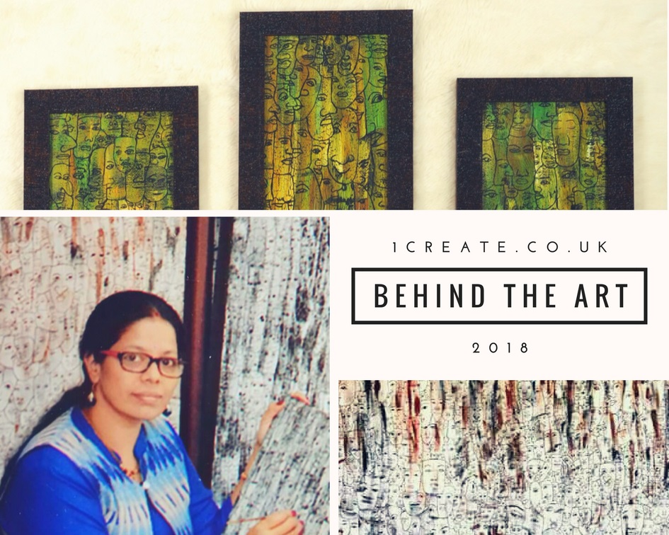 1create - behind the art Mamatha S Panapil
